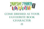 Make your own Costume for World Book Day 7th March 2019