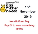 Children In Need Day - 15th November