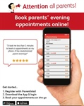 Make your Parent's Evening Appointment Online